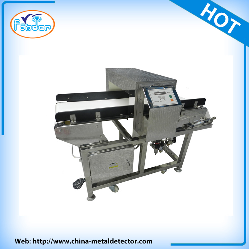 Food Processing Industry Metal Detector with Chain Conveyor Belt