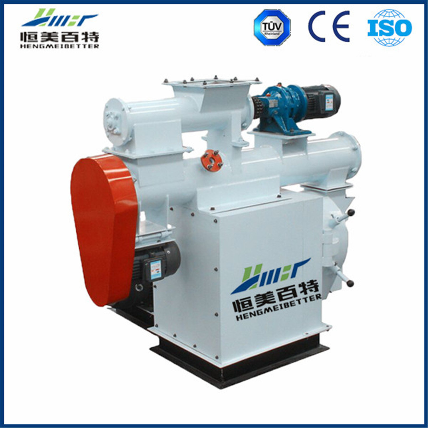 Ring Die Small Animal Feed Pellet Making Machine