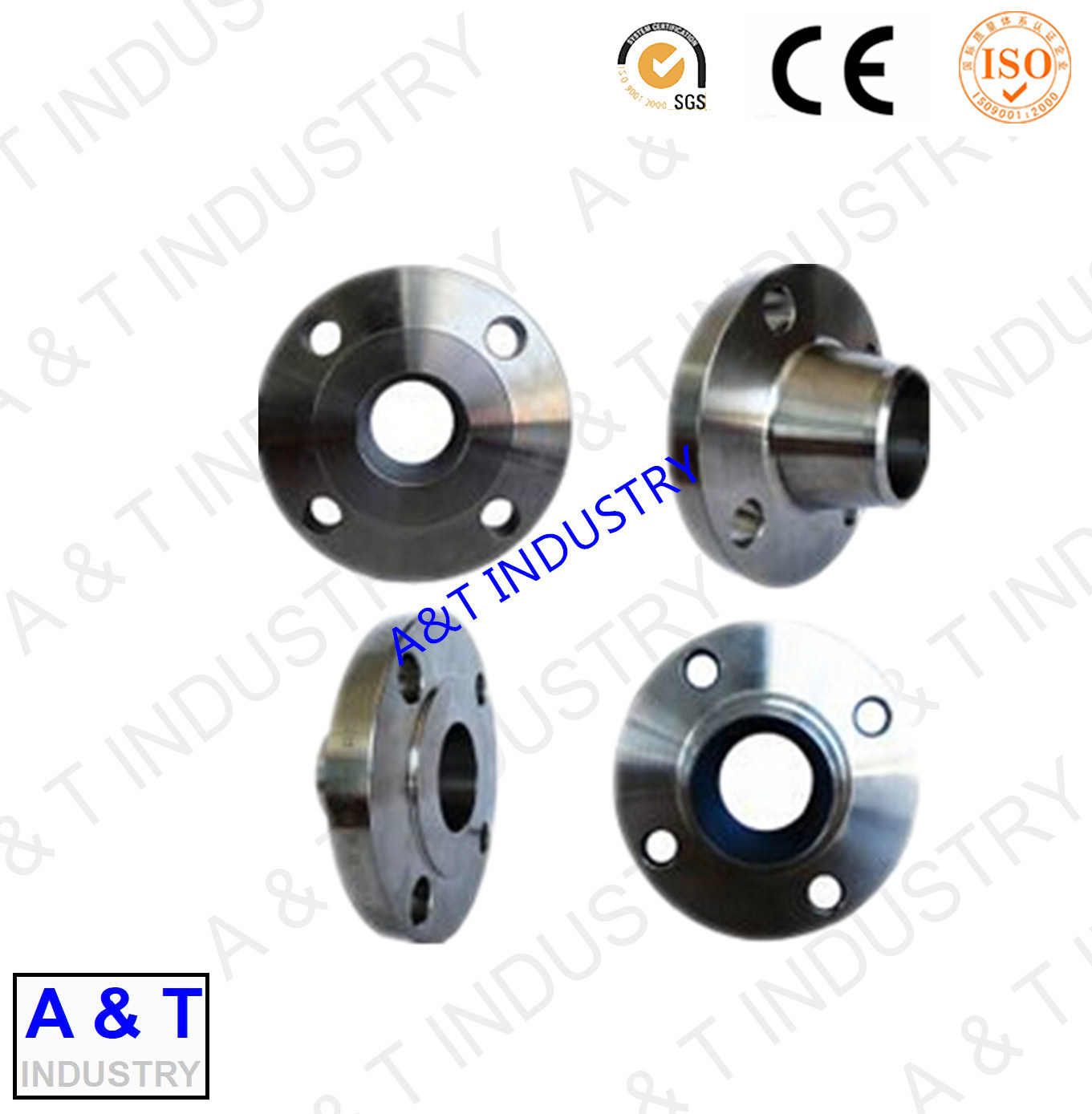 Aluminum Alloy Casting with Powder Coating Finish