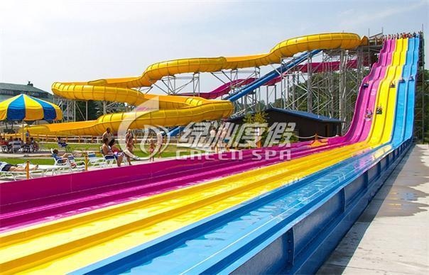Rainbow Water Slide for Water Park