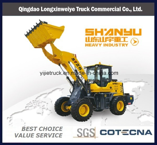 Zl928 Wheel Loader with Garbage Cleaning Machinery