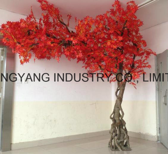 Artificial Fake Synthetic Maple Tree