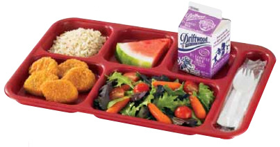 Compartment Tray / Snack Tray / Food Tray