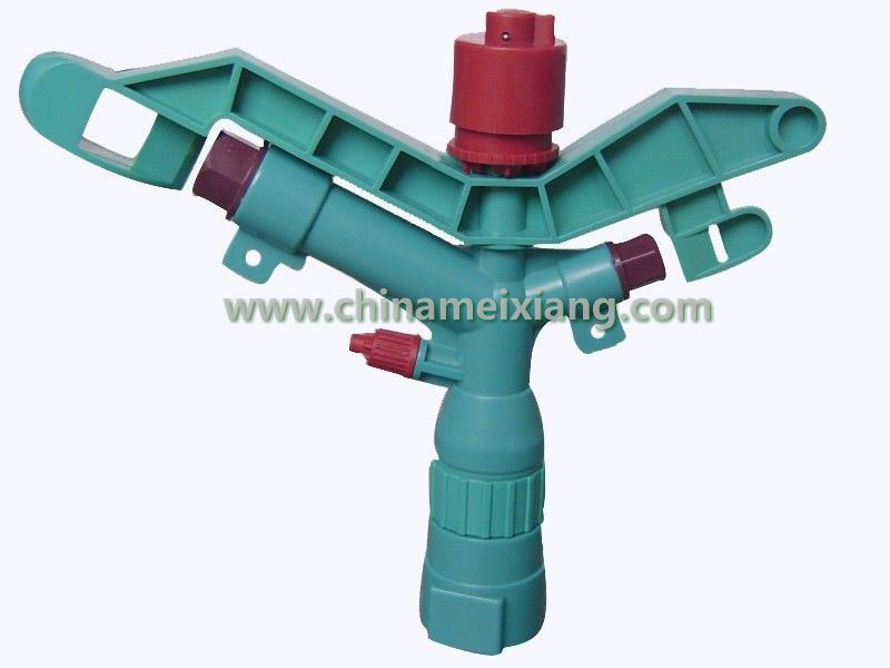 G 1′′ Agriculture Plastic Sprinkler Head (3 Nozzle) (MX9519)