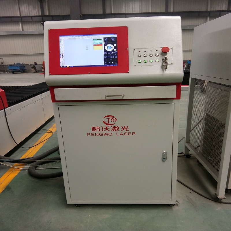 Automatic CNC Fiber Cutting Machine for Metal Sheet
