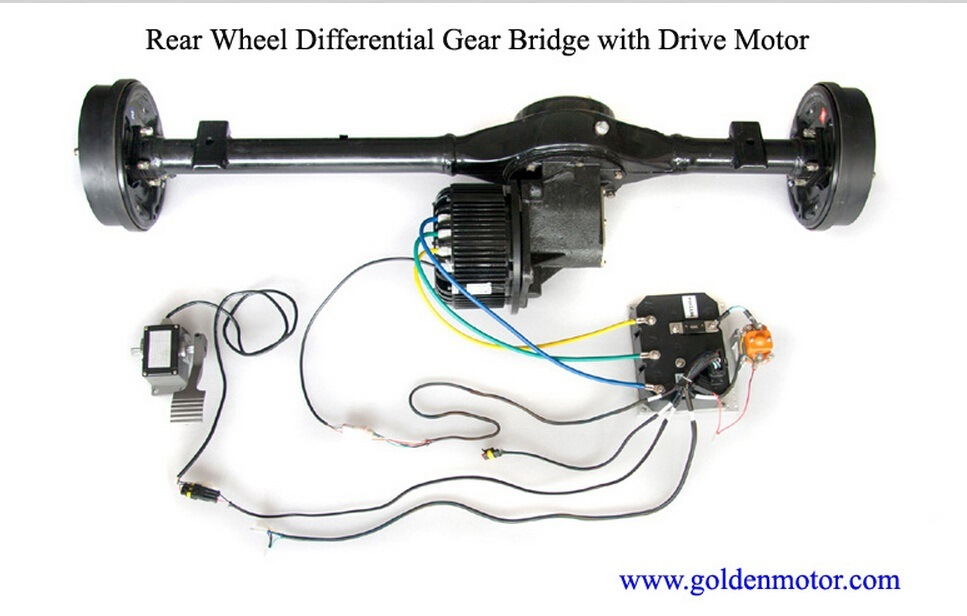 5kw Electric Car Conversion Kit 48V /72V /96V BLDC Motorbike Motor/MID Drive Motor with Ce Certificate