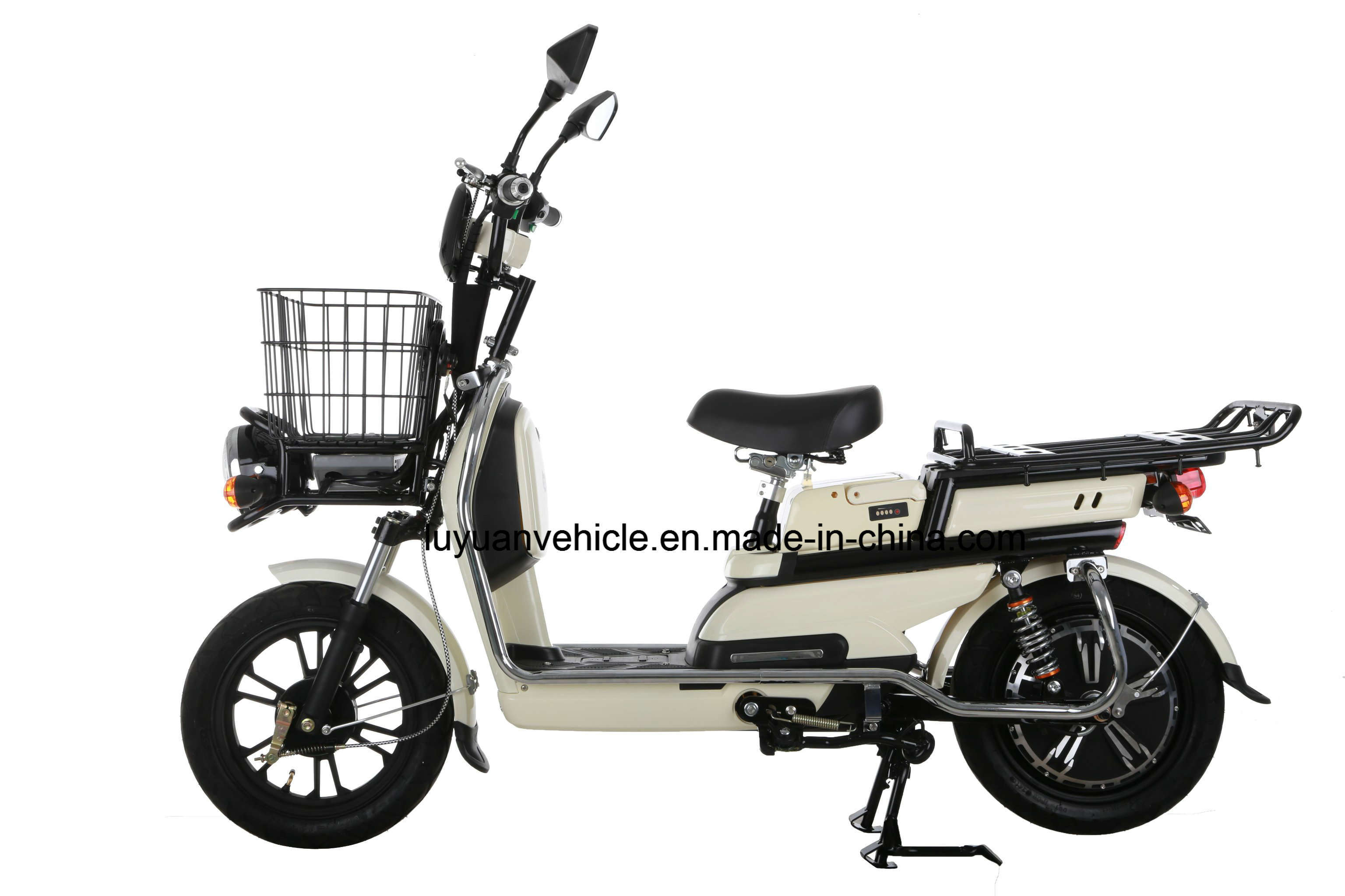 800W Utility Cargo E-Scooter with Portable Lithium Battery with Strong Loading Capacity (LLB)