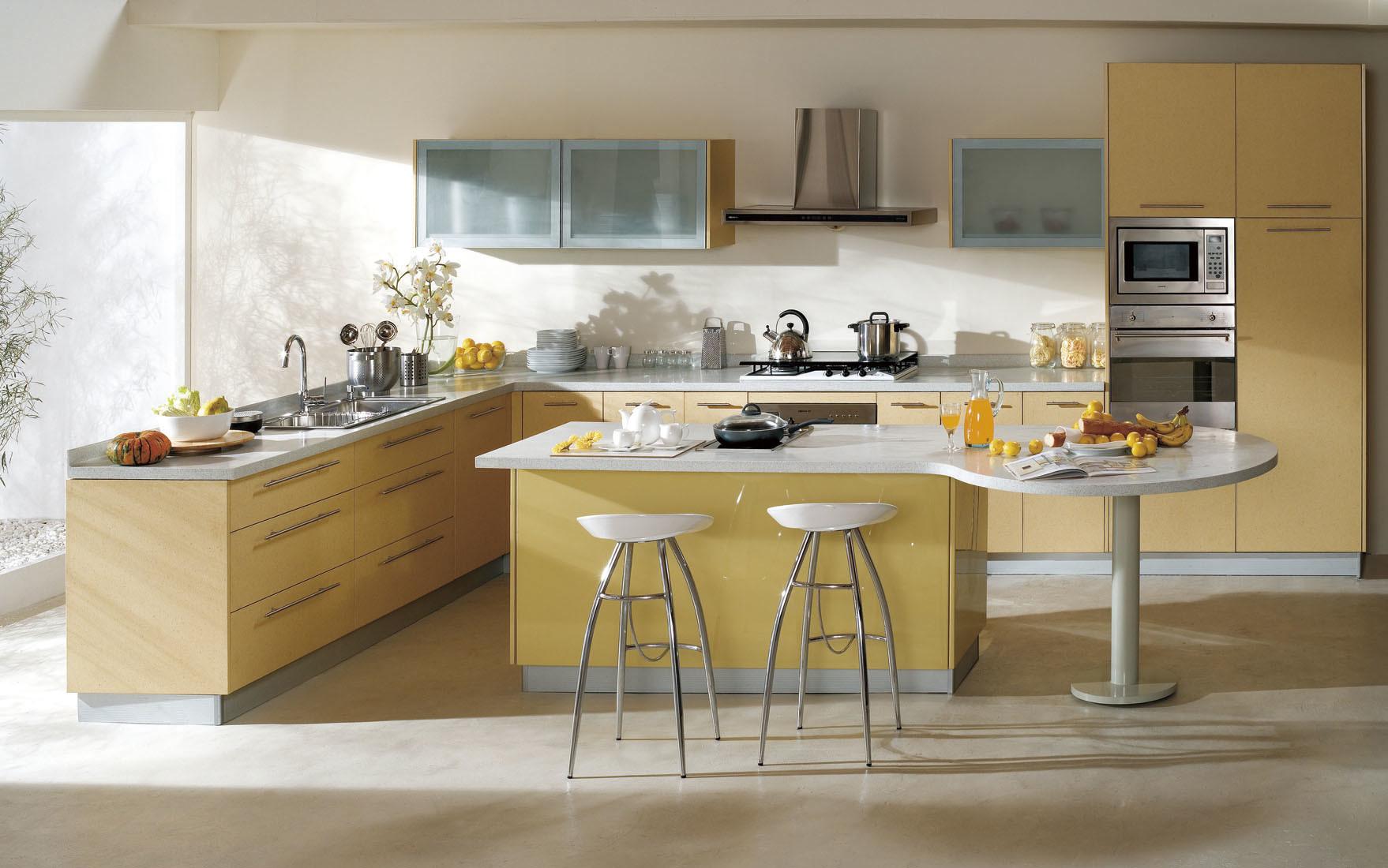 Cabina de cocina muebles modernos de la cocina smt 9977 for Gabinetes cocina modernos