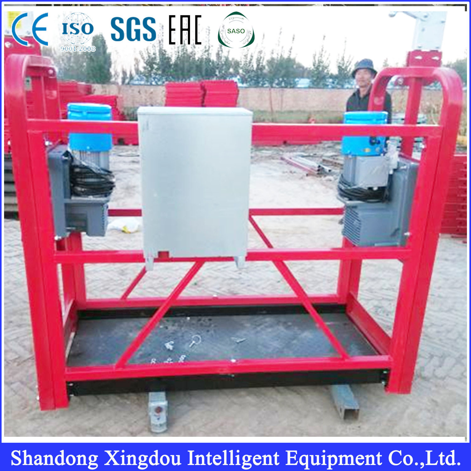 Zlp 630 Suspended Working Platform Used as Construction Gondola for Scaffolding Powered Cradle
