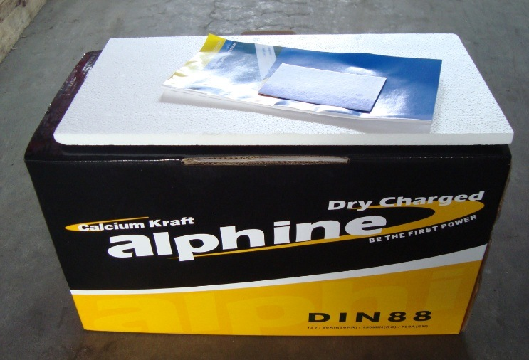 Hot Sell! DIN88 Dry Charged Car Battery