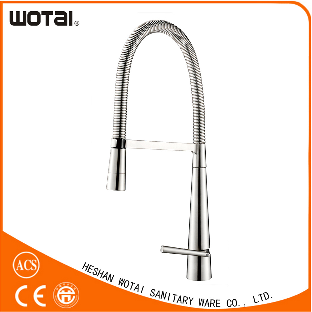 china pull out kitchen faucet spray head kitchen faucet polished chrome bathroom kitchen faucet pull out spray