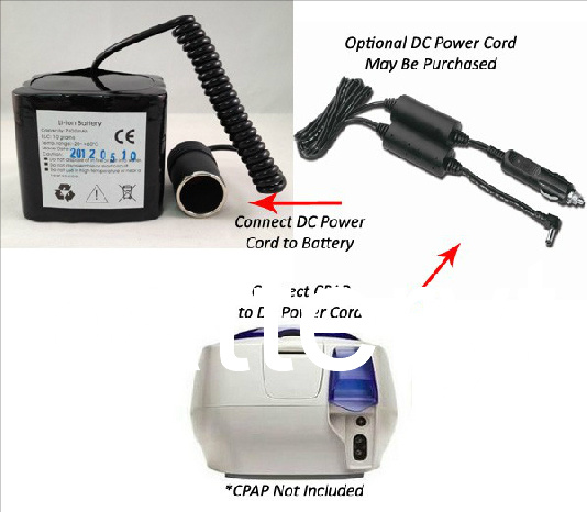 12V CPAP Battery for Resmed
