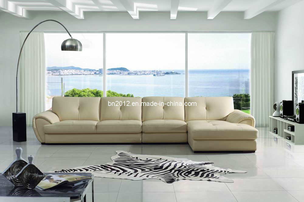 American Leather Sofa (SBO-3992)