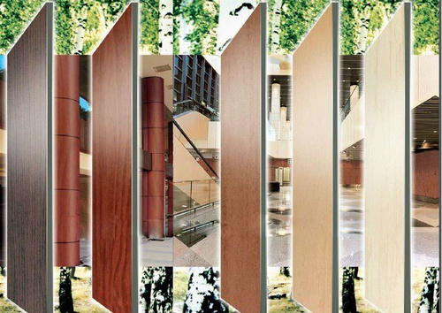 Wood Design Alumininum Composite Panels