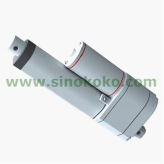 China 140mm stroke dc linear actuator linear actuator for Linear motor hall sensor