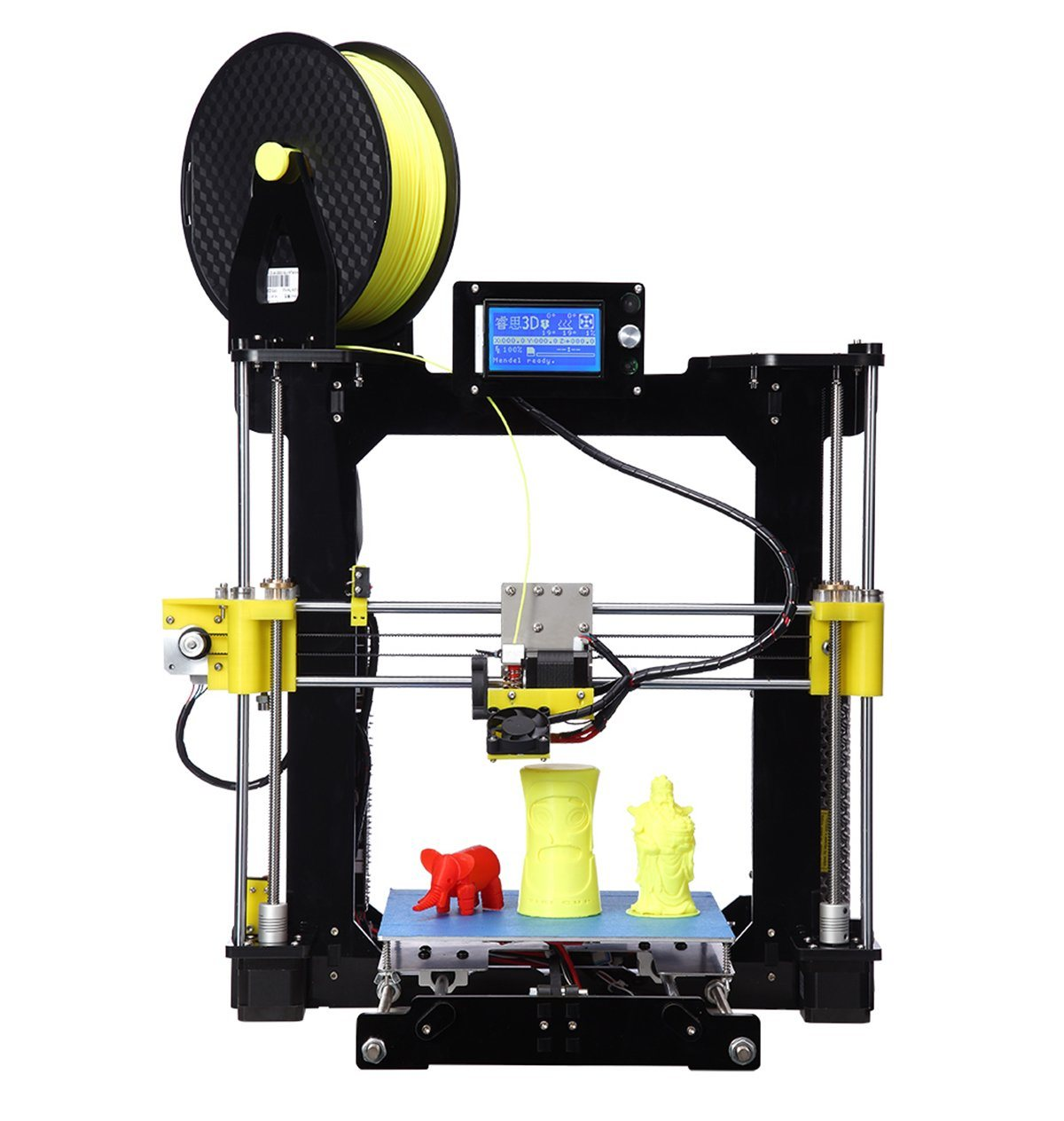 2017 Acrylic Reprap Prusa I3 High Quality DIY 3D Printer