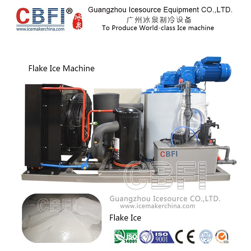 Industrial Commercial Flake Icee Making Machine