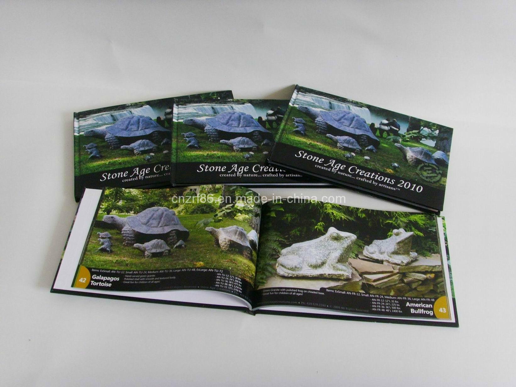 Paper Hard Cover Photo Magazine Printing Book Printing
