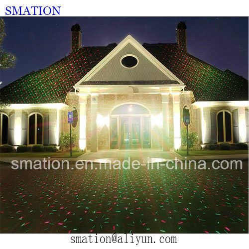 Moving Outdoor LED Projected Landscape Decoration Garden Christmas Laser Light
