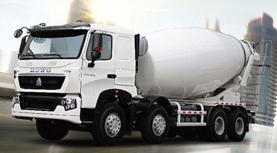 Sinotruk HOWO Brand 8X4 Driving Concrete Mixer Truck