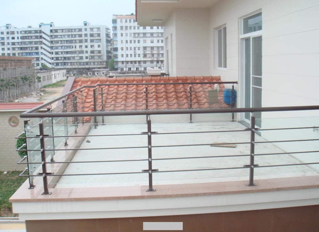 China glass balcony railing jkl 1664 photos pictures for Stainless steel balcony