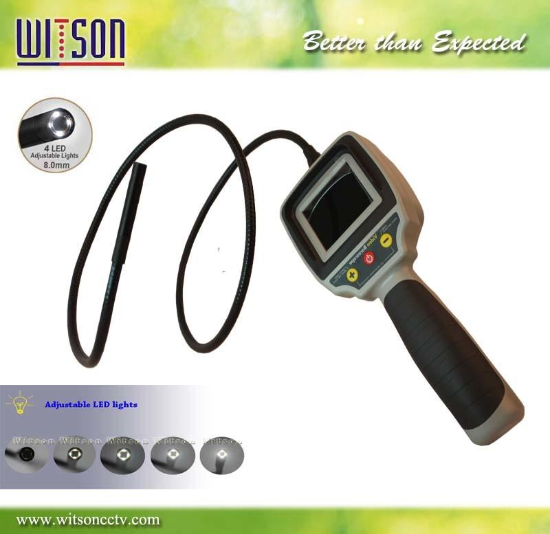 Witson 2.4inch Monitor Inspection Camera Endoscope (W3-CMP2812)