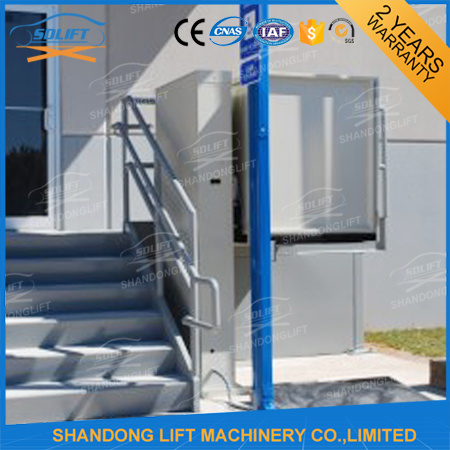 Hydraulic Wheel Chair Lift for The Disabled and The Elderly