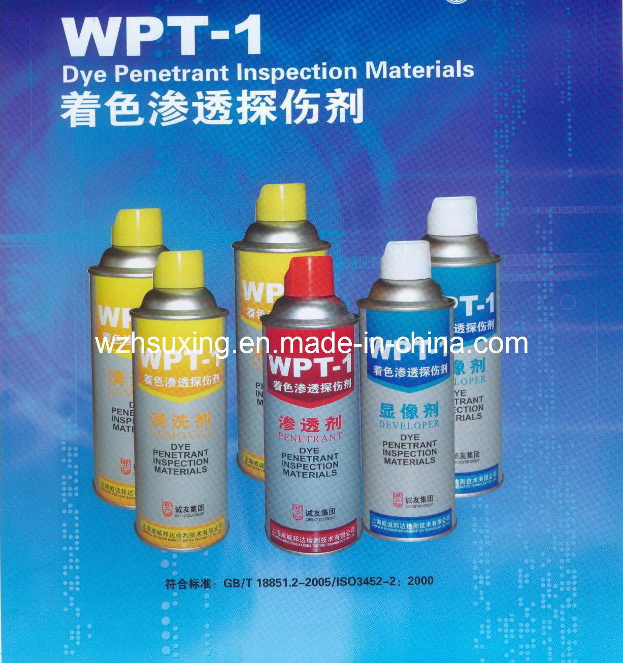 Dye Penetrant Insepection Materials