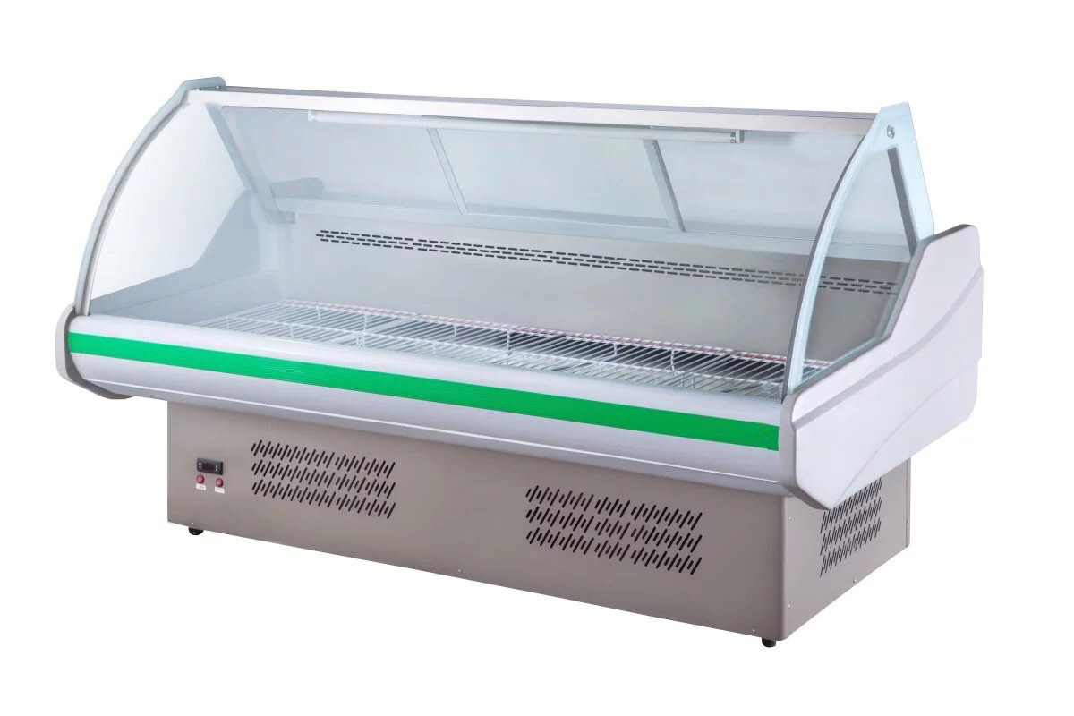 2.0m Meat Showcase Chiller for Food Service