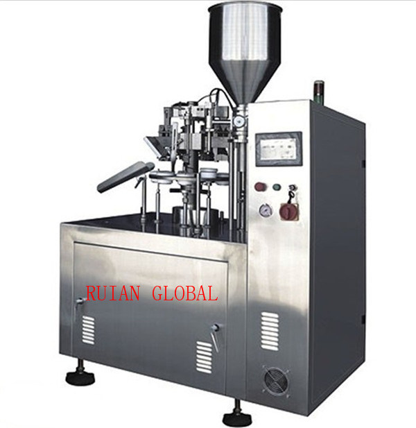 Semi Aluminum Plastic Tube Filling Sealing Machine