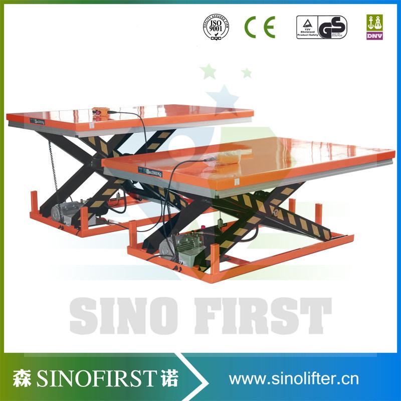 3ton 3000kg Fixed Electric Hydraulic Scissor Lift Table