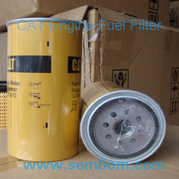 High Performance Engine Fuel Filter for Caterpillar Excavator/Loader/Bulldozer