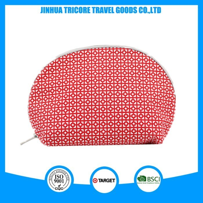 High Quality Semicircle Cosmetic Bag
