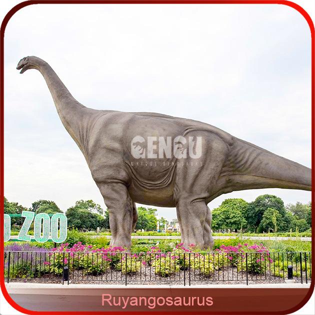 Dinosaur Playground Artificial Amusement Dinosaur Sculpture