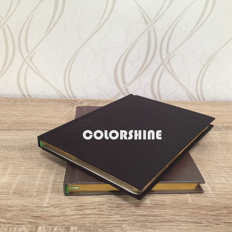 Three Edges Golden Gilt Educational Note Book
