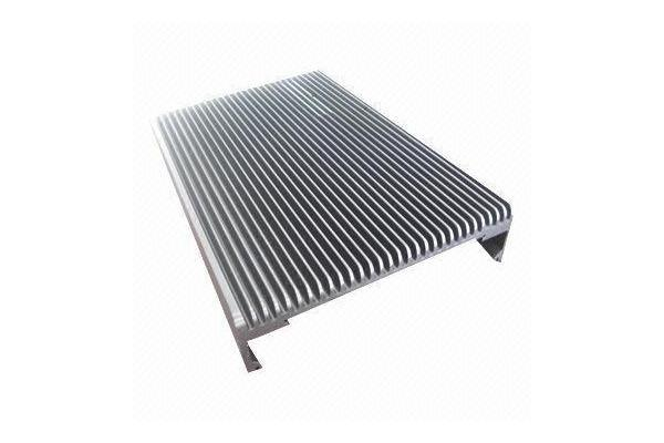 Heatsink Made of 6063 Aluminum Extrusion and CNC Machining