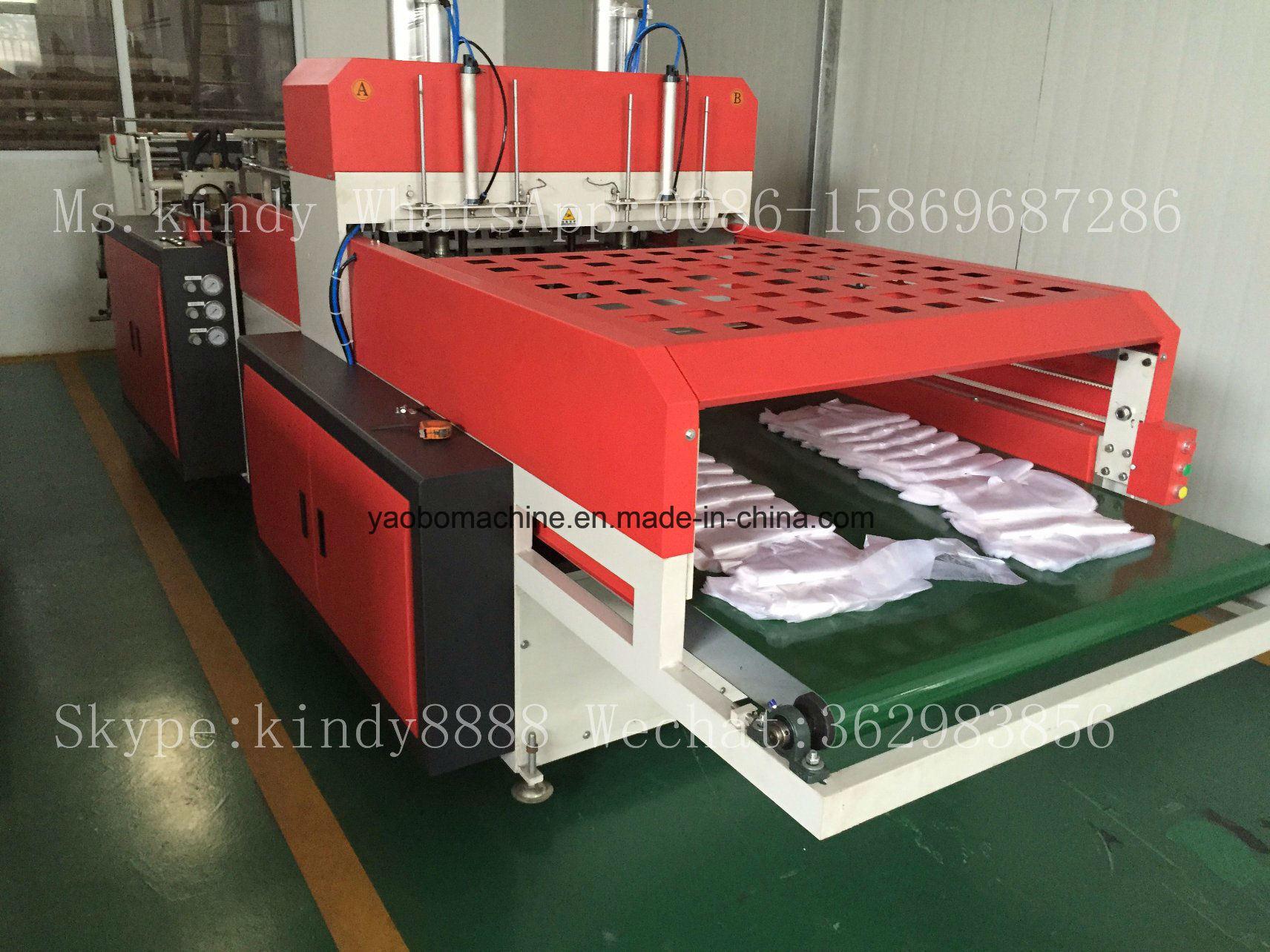 Ybhq-450*2 Automatic Plastic T-Shirt Bag Making Machinery