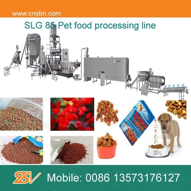 Continuous Automatic Pet Food Extruder Machine