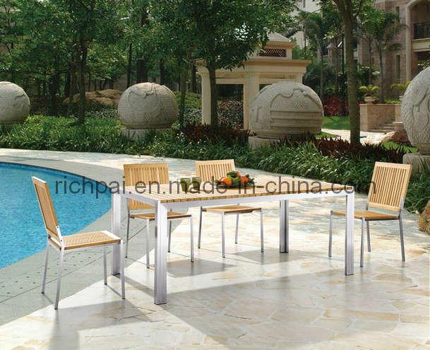 Dining Table Teak Dining Table Hong Kong : Garden Outdoor Furniture Teak Table and Chair RCT012 RTT002  from choicediningtable.blogspot.com size 609 x 495 jpeg 56kB