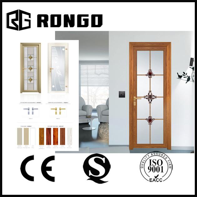 Rongo Modern Design Bathroom Glazing Glass Door