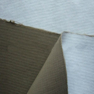 Nylon Taslon Ripstop Fabric with PU Milky Coating