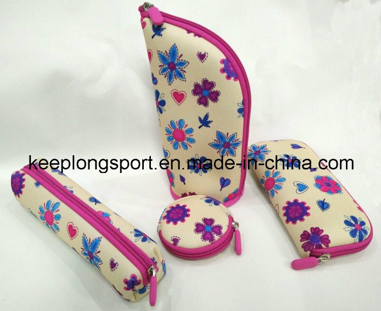 Customized Promotional Neoprene Pouches for Women and Children