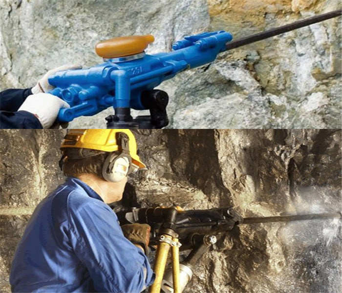High Quality Pneumatic Air Leg Rock Drill Yt28