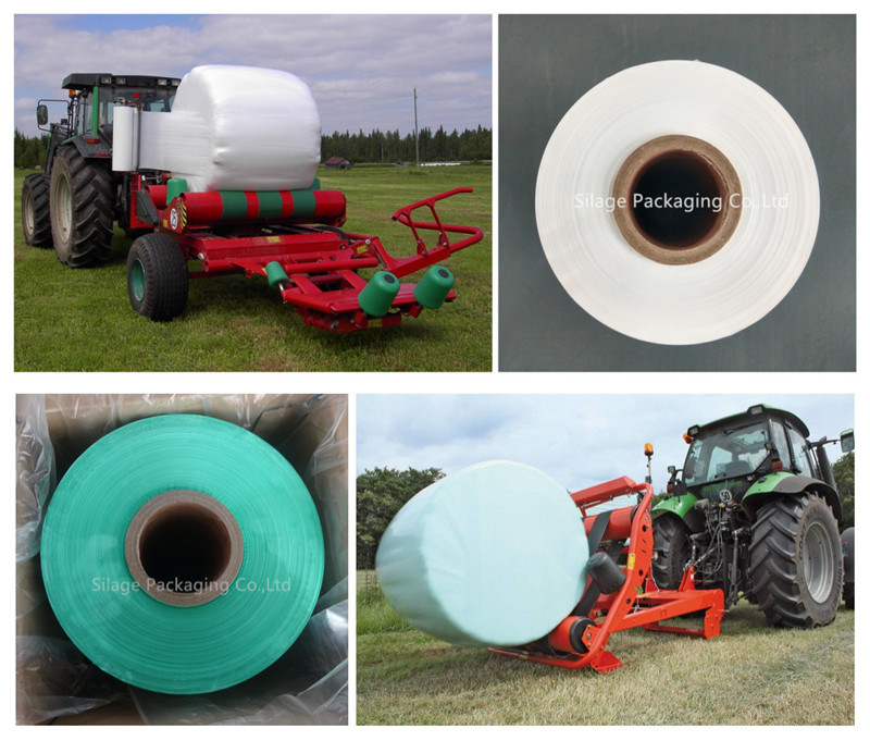 750mm Good Quality Anti-UV Green Silage Wrap Film for France