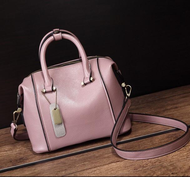 Hot Sale Ladies 2017 Fashion Boston European Style PU Handbags