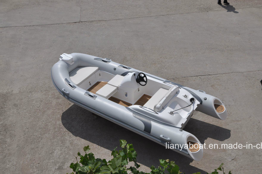 Liya14feet Rigid Inflatable Boat Center Console Rib Boat for Sale