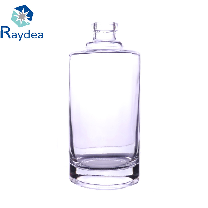500ml Clear Round Glass Bottle for Spirit