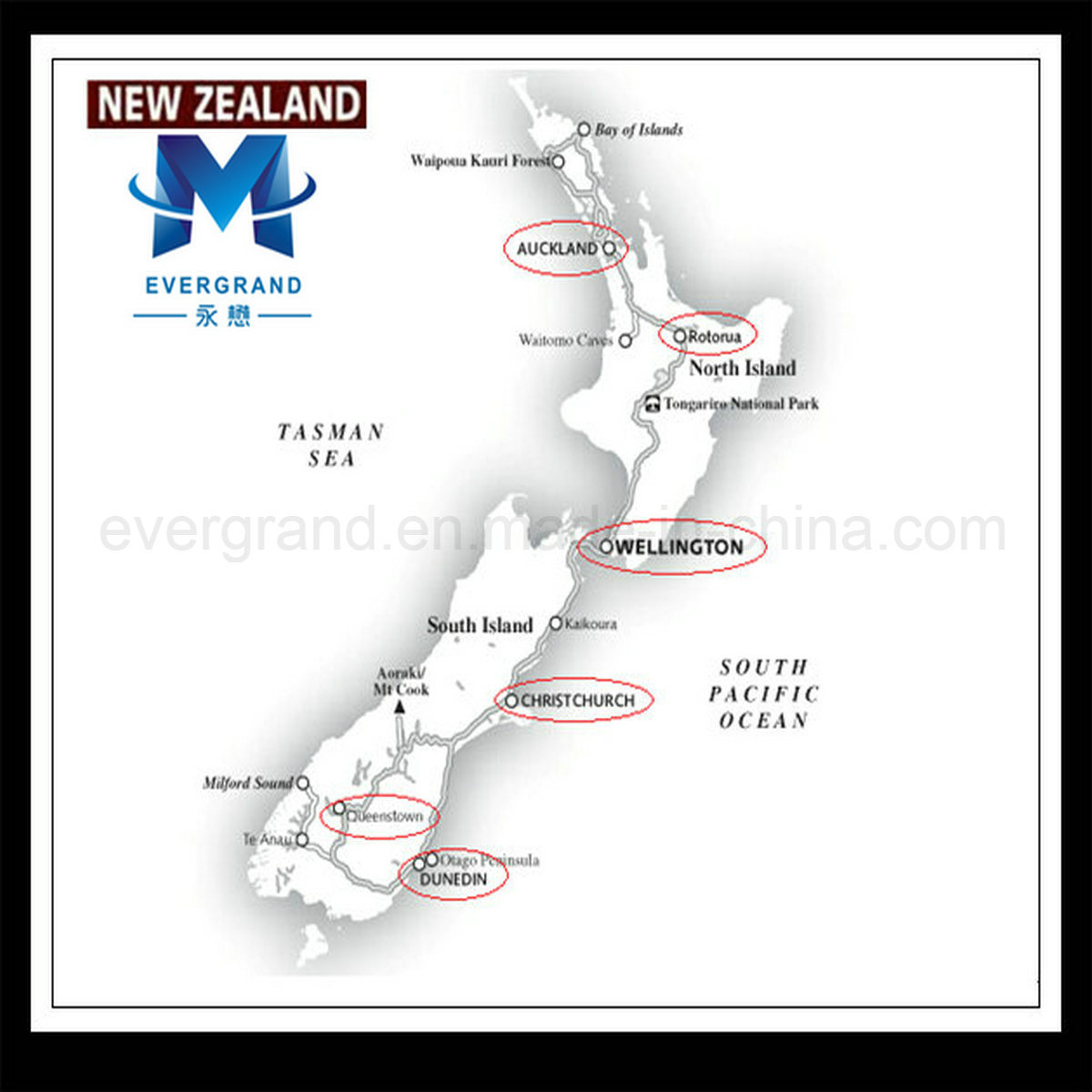 China Door to Door Shipping to New Zealand