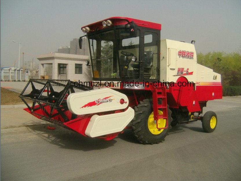 4lz-6 Best Price Rice Combine Harvester