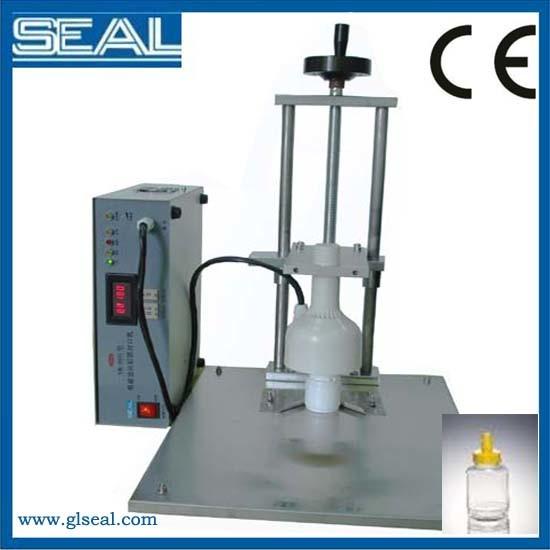 sealing machine for plastic bottles